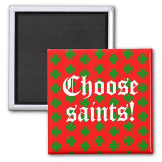 Imán Lema de Saints_Aplenty (edición del navidad 2)