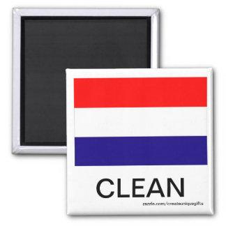 Imán limpio del lavaplatos de la bandera de Hollan