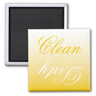 Imán limpio/sucio del lavaplatos de Ombre del