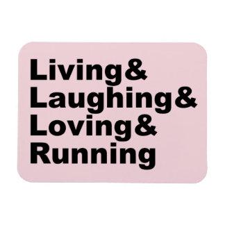 Iman Living&Laughing&Loving&RUNNING (negro)