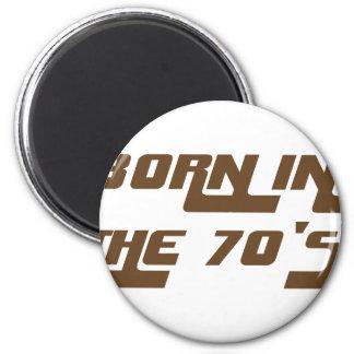 Imán Llevado en los años 70
