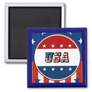 Imán Los E.E.U.U. - La bandera americana protagoniza el