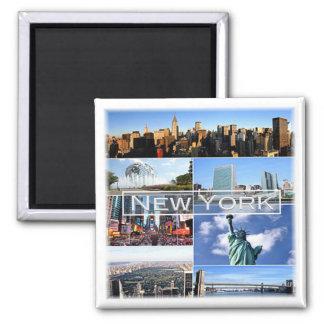 Imán Los E.E.U.U. * Los E.E.U.U. - Nueva York