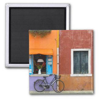 Imán Los edificios de Burano Italia acercan a Venecia