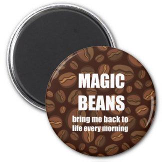 Imán mágico divertido de las habas de Coffe