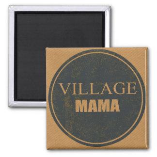 Imán Mamá Fridge Magnet del pueblo