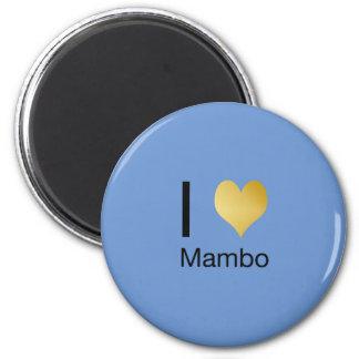 Imán Mambo juguetónamente elegante del corazón de I