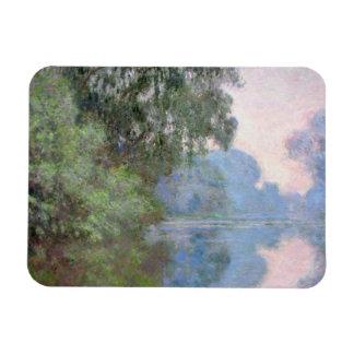 Iman Mañana en el Sena cerca de Giverny de Claude Monet