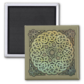 Imán Mandala de Knotwork del Celtic