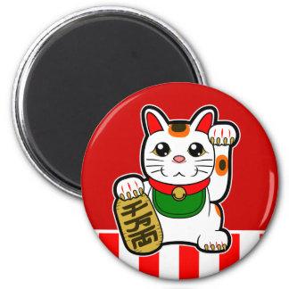 Imán Maneki Neko: Gato afortunado japonés