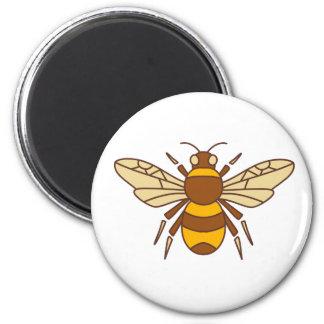 Imán Manosee el icono de la abeja