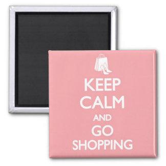 Imán Mantenga tranquilo y vaya a hacer compras