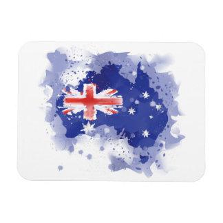 Iman Mapa de la acuarela de Australia