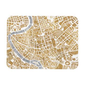 Iman Mapa dorado de la ciudad de Roma