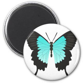 Imán Mariposa azul