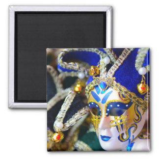 Imán Máscaras de la mascarada del carnaval en Venecia
