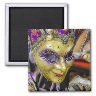 Imán Máscaras del carnaval en Venecia Italia
