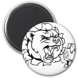 Imán Mascota de Esports del oso