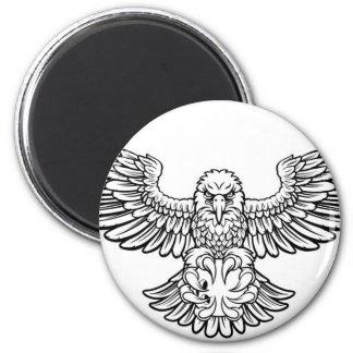 Imán Mascota de los deportes de Eagle que rueda