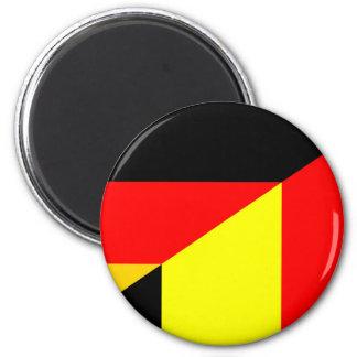 Imán medio símbolo del país de la bandera de Alemania