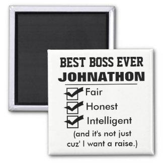 Imán Mejor Boss divertido nunca