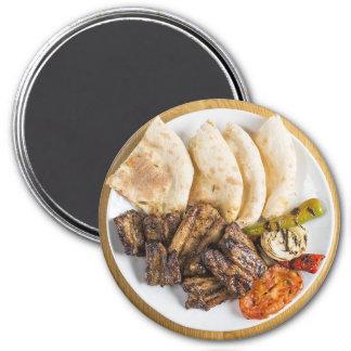 Imán mexicano del refrigerador de la cena