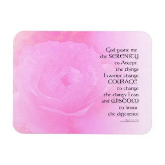 Iman Mezcla del rosa del rosa del rezo de la serenidad