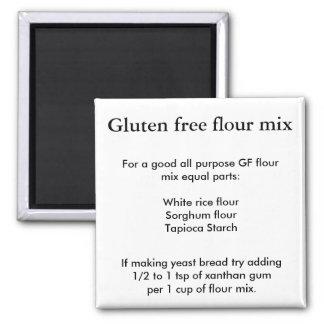 Imán Mezcla libre de la harina del gluten