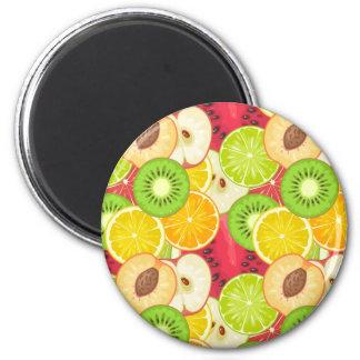 Imán Modelo colorido de la fruta de la diversión