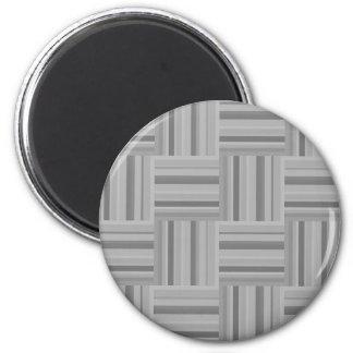 Imán Modelo gris de la armadura de las rayas