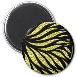 Imán Modelo metálico del oro en negro