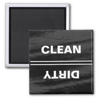 Imán moderno del lavaplatos de la pizarra negra