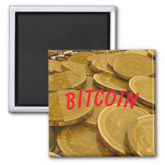 Imán Monedas de la moneda de Bitcoin