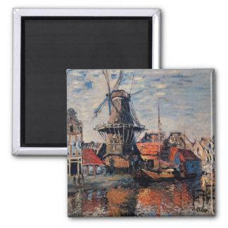 Imán Monet - molino de viento en el Onbekende