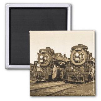 Imán Motores locomotores del tren del vintage de los
