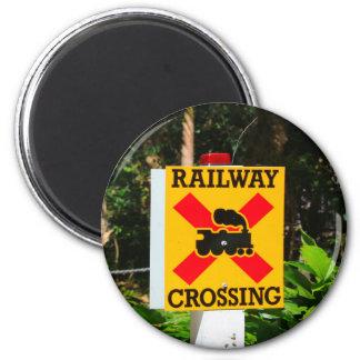 Imán Muestra del cruce ferroviario