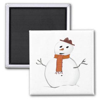 Imán Muñeco de nieve