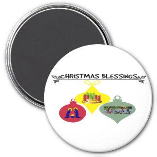 Imán Navidad que bendice