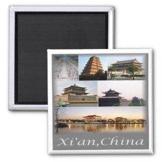 Imán NC * CHINA - Xian China y ejército de la terracota