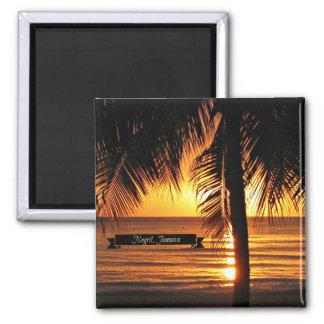 Imán Negril, puesta del sol de Jamaica