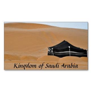 Imán negro de la tienda de la Arabia Saudita del