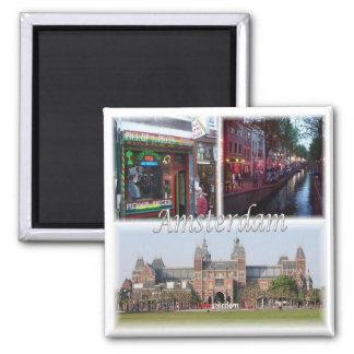 Imán NL * Países Bajos - Amsterdam Holanda