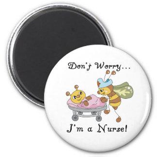 Imán No se preocupe me son una enfermera