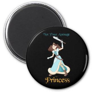 """Imán """"No su chica de la princesa media"""" guerrero"""