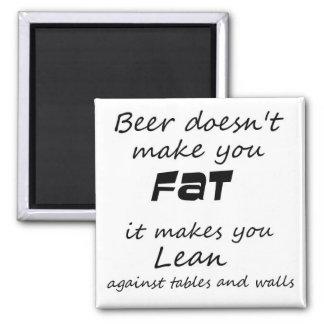 Imán Novedad divertida del chiste de la cerveza de los