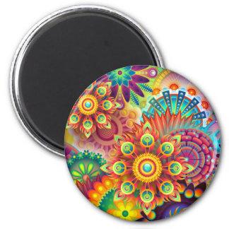 Imán Nuevo fondo abstracto colorido