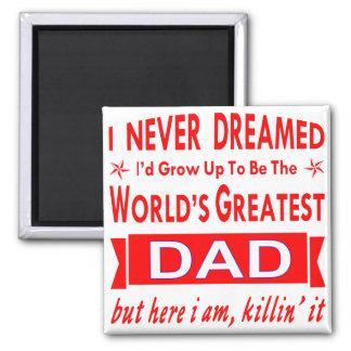 Imán Nunca soñado sería mundo más grande