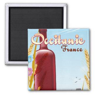 Imán Occitanie Francia que cultiva el poster del