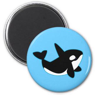 Imán Orca linda (orca)