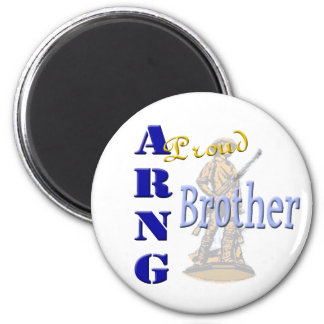 Imán orgulloso de ARNG Brother
